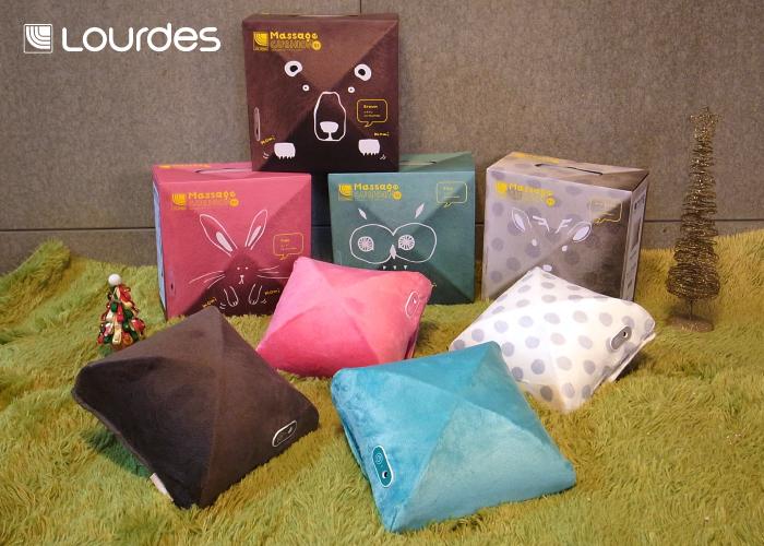 最輕巧實用的日式小型按摩抱枕,不僅可愛迷人,連外盒都可愛度破表,送禮還是送自己都超值得!