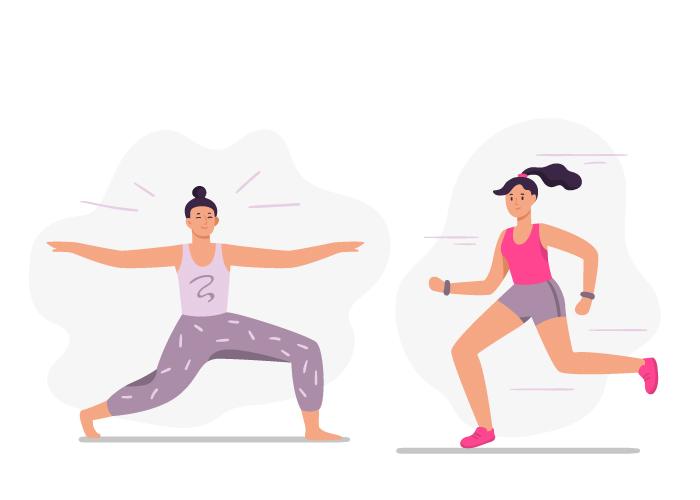 改善手腳冰冷首先要改善血液循環,每天維持至少十分鐘運動。
