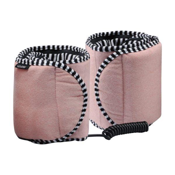 Lourdes小腿溫熱振動按摩器,以振動及溫熱效果促進雙腳血液循環,改善雙腿水腫、放鬆緊繃肌肉。