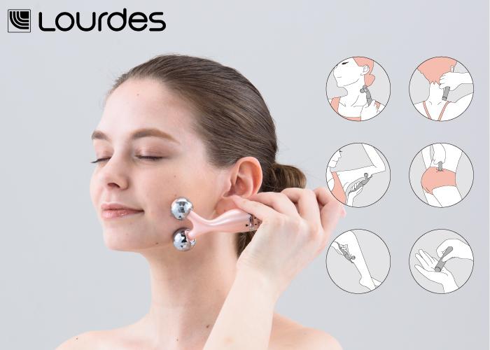 超實用的美容滾珠按摩棒,可以隨心所欲的按摩肌肉與穴道,不僅讓臉部更緊實美麗,還可以針對穴道進行按摩,隨身攜帶更是便利!